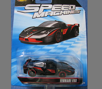 Ferrari FXX 1:64 Hot Wheels Speed Machines 2011 Diecast Mint W2318-0718 (1st)